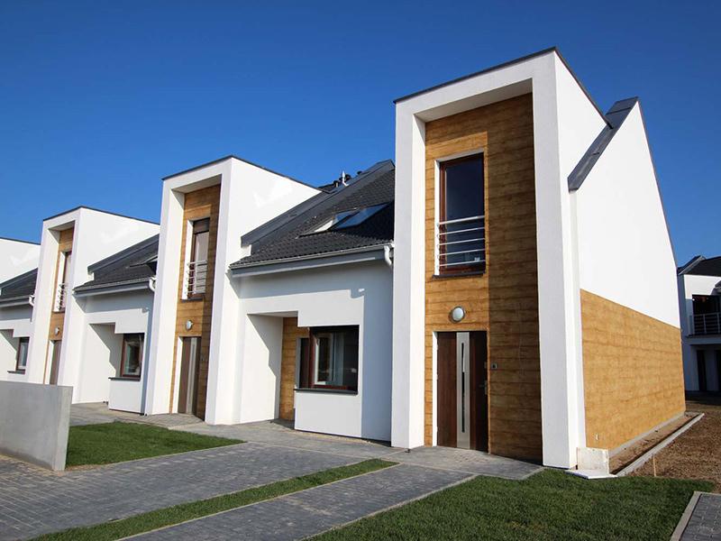 nowe mieszkania w szeregowcach