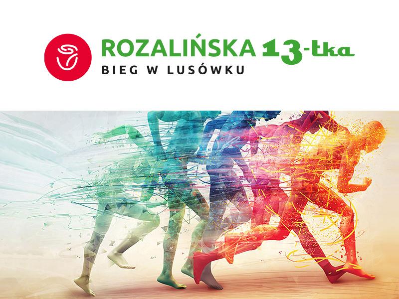 Rozalinska 13-tka - bieg w Lusówku