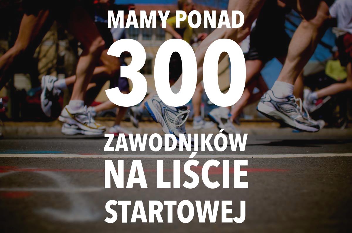 Rozalinska 13-tka - pod 300 zawodników na liście