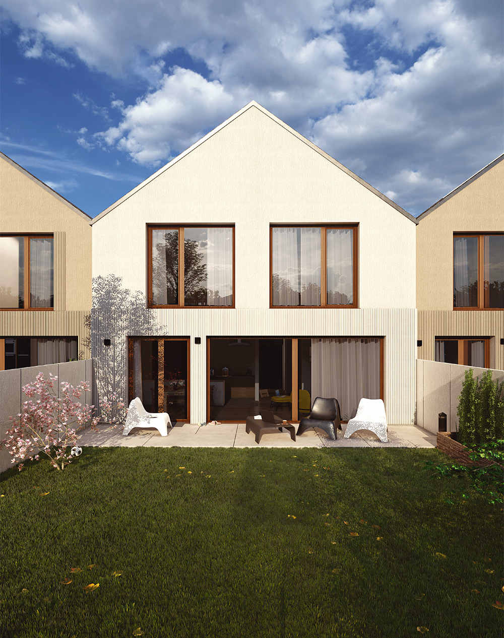 Domy zasilane zieloną energią - domy zielone - Osiedle Rozalin